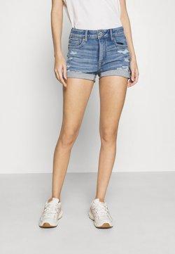 American Eagle - SHORTIE - Jeans Shorts - medium bright indigo