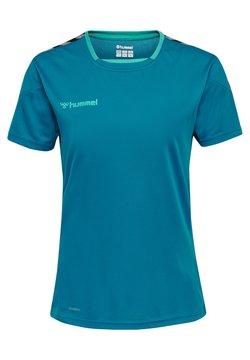 Hummel - HMLAUTHENTIC  - T-shirt print - celestial