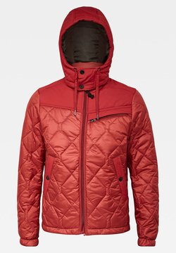 G-Star - ATTACC HEATSEAL QUILTED HOODED - Winterjacke - dry red
