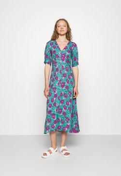 Closet - VNECK DRESS - Freizeitkleid - turquoise