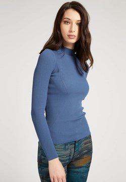 Guess - Strickpullover - blau