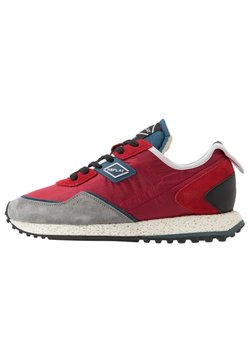 Replay - DRUM ROAD - Sneaker low - red/denim blue