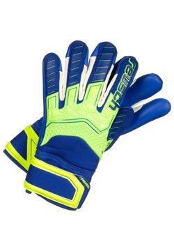 Reusch - ATTRAKT FREEGEL S1  - Sormikkaat - safety yellow / deep blue