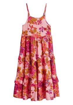 Next - PINK ROSE STRAPPY MAXI DRESS (3-16YRS) - Maxikleid - pink