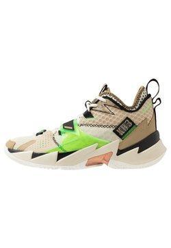 Jordan - WHY NOT ZER0.3 - Chaussures de basket - parachute beige/rage green/fossil/black