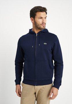 Lacoste - veste en sweat zippée - marine