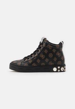 Guess - REMMY - Sneaker high - brown/ocra