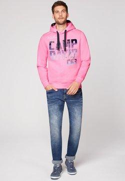 Camp David - Kapuzenpullover - neon pink