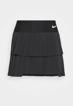Nike Performance - SKIRT PLEATED - Sportkjol - black/white