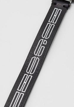 HUGO - LOGO BRACELET - Bracelet - black