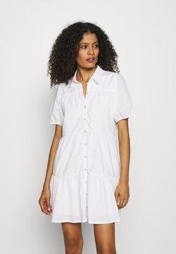 Abercrombie & Fitch - SHIRTDRESS - Blusenkleid - white