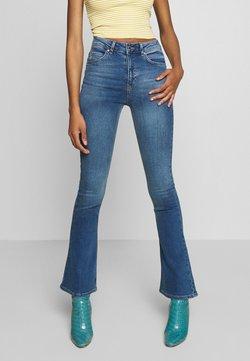 Gina Tricot - NATASHA - Bootcut jeans - river blue