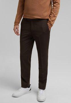 Esprit Collection - Anzughose - dark brown