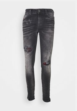 Diesel - D-JEVEL-SP - Jeans Skinny Fit - washed black