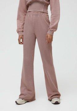 PULL&BEAR - Jogginghose - mottled pink