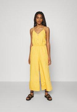 Monki - LEJA DUNGAREES - Combinaison - yellow bright