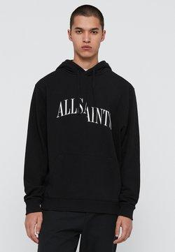 AllSaints - DROPOUT - Jersey con capucha - black