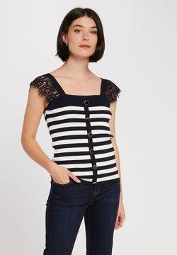Morgan - WITH STRIPES - T-Shirt print - dark blue