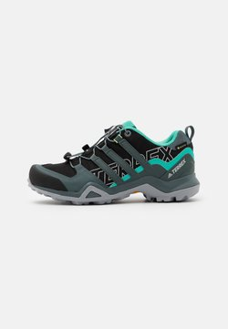 adidas Performance - TERREX SWIFT R2 GORE-TEX - Vaelluskengät - core black/blue/mint