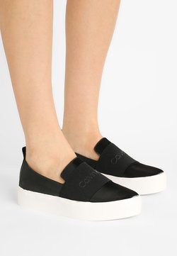 Calvin Klein - JACINTA - Loaferit/pistokkaat - black