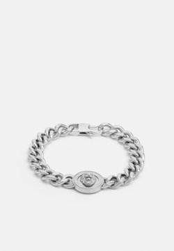 Guess - LION COIN CHAIN BRACELET UNISEX - Rannekoru - silver-coloured