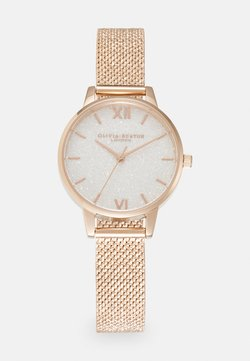 Olivia Burton - GLITTER DIAL - Watch - roségold-coloured/white