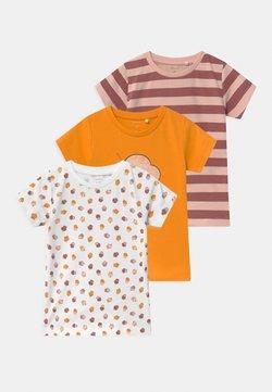 Name it - NBFBAILASAN 3 PACK - T-shirt print - peach whip
