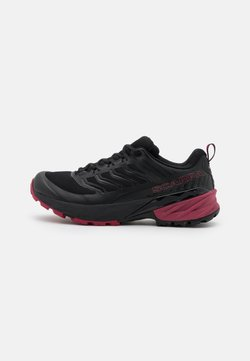 Scarpa - RUSH - Hikingschuh - black/cherry