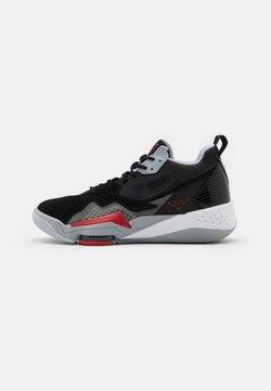 Jordan - ZOOM '92 - Sneakers hoog - anthracite/black/wolf grey/gym red/white/sky grey