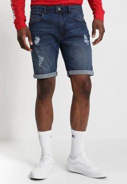 Redefined Rebel - OSLO DESTROY  - Szorty jeansowe - ocean blue