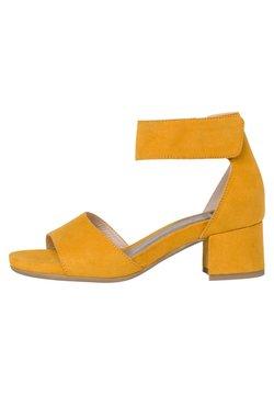 Jana - Riemensandalette - saffron