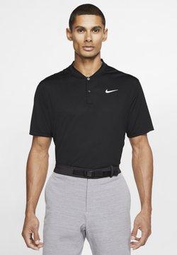 Nike Golf - DRY VICTORY - Sportshirt - black/white