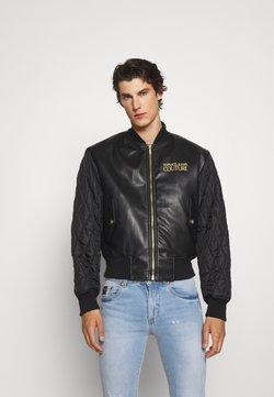 Versace Jeans Couture - MAN JACKET - Nahkatakki - nero