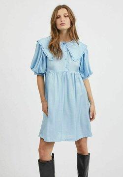 Vila - Sukienka koszulowa - cashmere blue