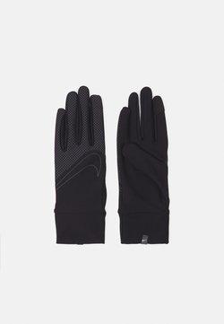 Nike Performance - 360 MEN'S LIGHTWEIGHT TECH RUNNING GLOVES - Fingerhandschuh - black/black/silver