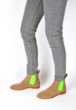 Crickit - CHELSEA BOOT TILDA CHELSEA BOOT - Stiefelette - taupe neon grün