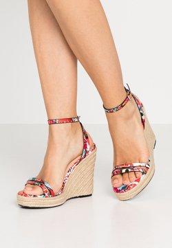 Even&Odd - Sandalen met hoge hak - multicolor