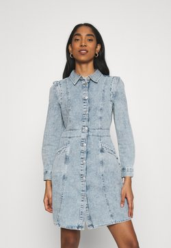 Vero Moda - VMASTA DENIM DRESS - Denim dress - light blue denim