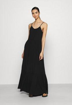 Vila - VIMESA STRAP DRESS - Maxikleid - black