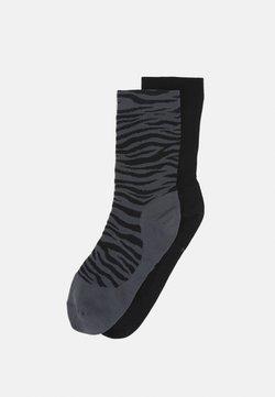 Nike Performance - SHEER ANKLE NOVELTY 2 PACK - Sportsocken - iron grey/black