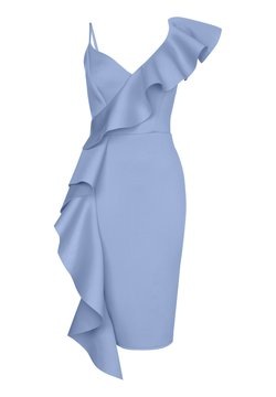Lipsy - ABBEY CLANCY X  - Cocktailkleid/festliches Kleid - blue