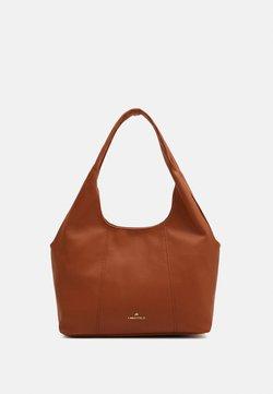 Anna Field - Tote bag - cognac
