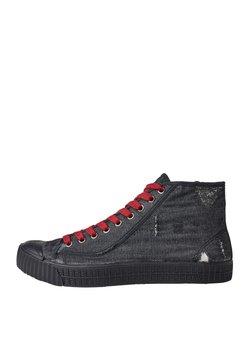 G-Star - ROVULC 50 YEARS DENIM MID - Sneaker high - black