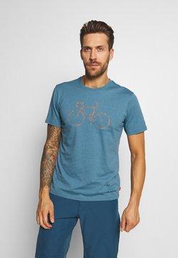 Vaude - ME CYCLIST  - T-Shirt print - blue gray