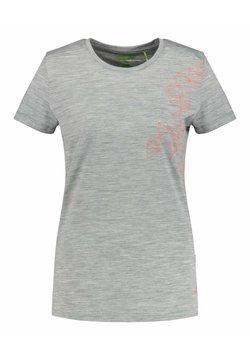 Meru - STATHELLE - T-Shirt print - silber mel