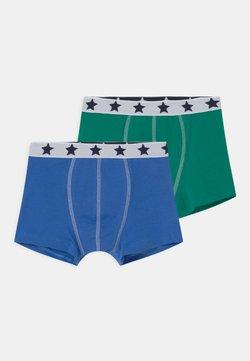 Petit Bateau - STAR 2 PACK - Panties - blue/green