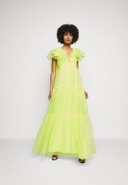 Cinq à Sept - CHRISHELLE DRESS - Ballkleid - acid yellow