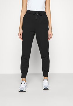 ONLY - ONLPOPTRASH EASY RELAX PANT - Jogginghose - black
