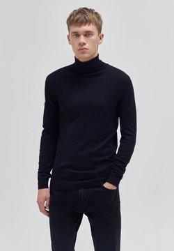 PULL&BEAR - Strickpullover - black