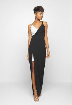 WAL G. - CONTRAST DRESS - Abito da sera - black/white